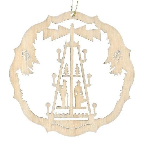 Lenk & Sohn Baumbehang Kreis Motiv Pyramide