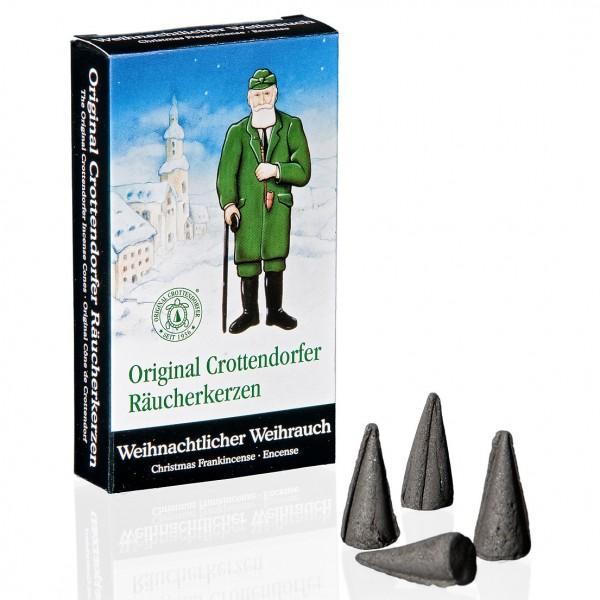 Original Crottendorfer Räucherkerzchen - Weihnachtlicher Weihrauch