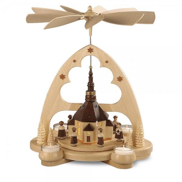 Müller Bogenpyramide Seiffener Kirche 36cm
