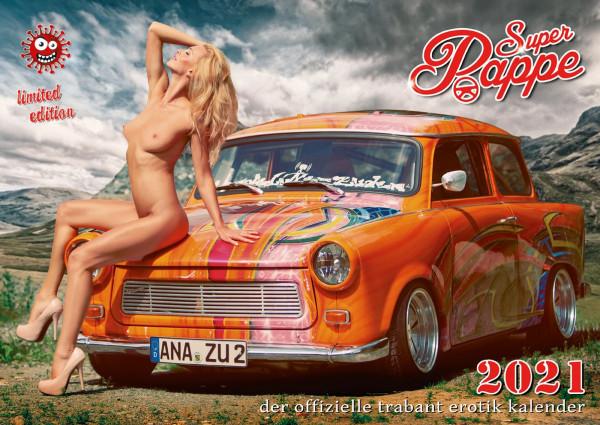 Der offizielle erotische DDR Trabant Kalender - Super Pappe 2021