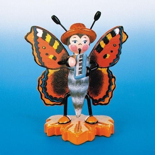 Hubrig Schmetterling Grauer Fuchs mit Melodika