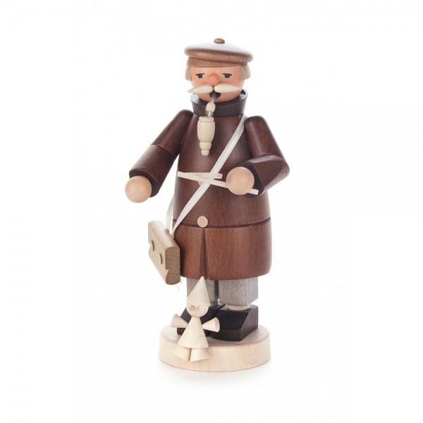 Dregeno Erzgebirge - Räuchermann Puppenspieler mit Marionette - 17cm