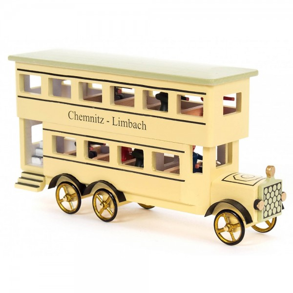 Dregeno Erzgebirge - Miniatur-Doppelstockbus