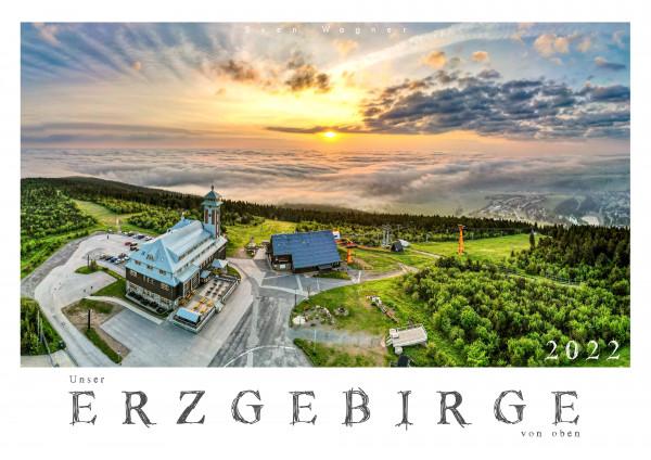 Kalender 2022 - Unser Erzgebirge von oben - Format A3