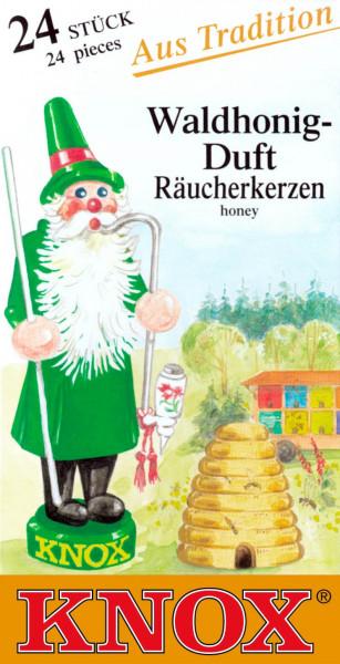 Dregeno Erzgebirge - KNOX Räucherkerzen Waldhonig (24)