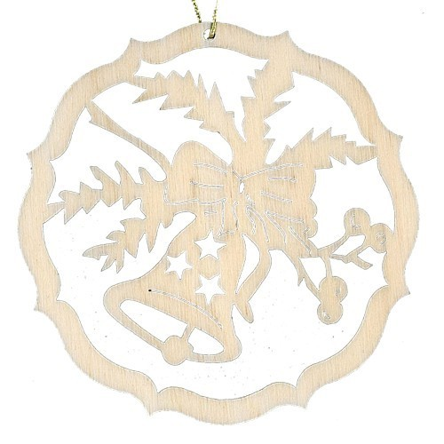 Lenk & Sohn Baumbehang Kreis Motiv Glocke