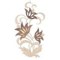 Restposten: Dregeno Erzgebirge - Fensterbild, Motiv: Lotusblüten, natur