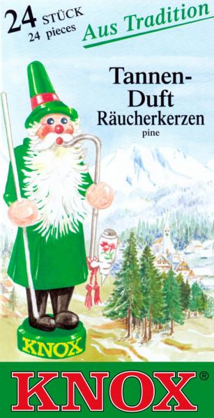 Dregeno Erzgebirge - KNOX Räucherkerzen Tannenduft (24)