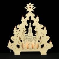 HELA Holzkunst - 2D Lichterspitze Erzgebirge - Seiffen