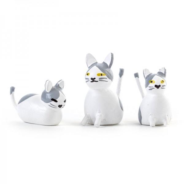 Dregeno Erzgebirge - Miniatur-Katzenfamilie