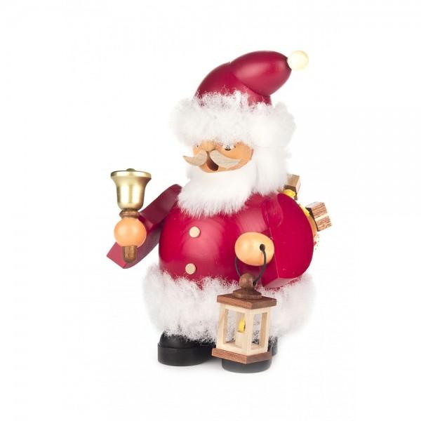 Dregeno Erzgebirge - Räuchermann Weihnachtsmann - 15cm