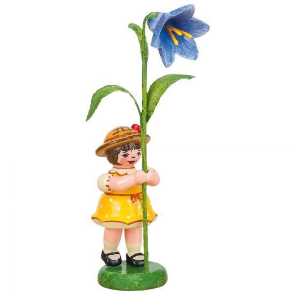 Hubrig Neuheit 2015 - Blumenmädchen mit Blauglöckchen