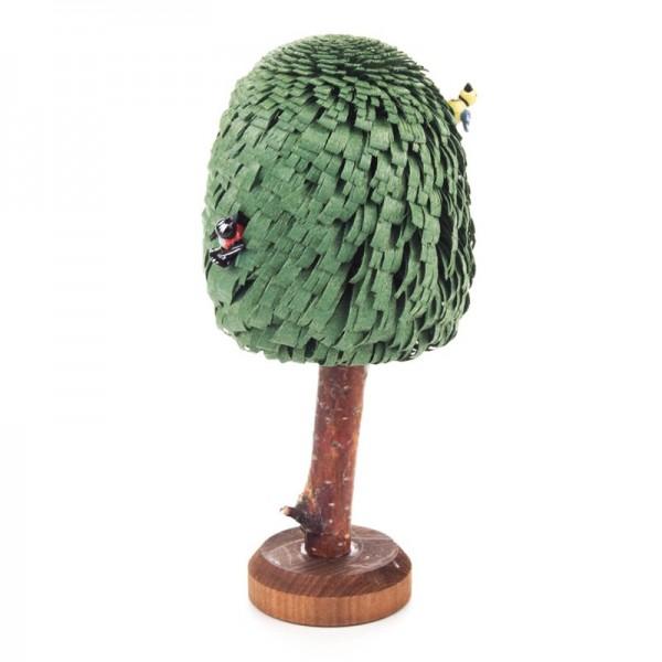 Dregeno Erzgebirge - Miniatur-Baum mit 2 Vögeln