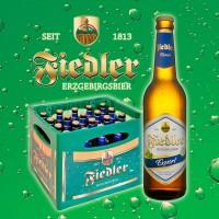 Fiedler Erzgebirgsbier - Exprt - 0,5l