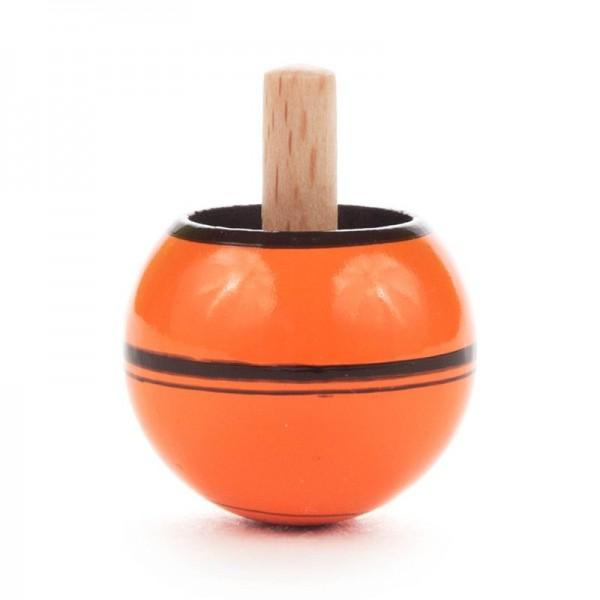 Dregeno Erzgebirge - Miniatur-Steh-Auf-Kreisel, orange