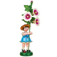 Hubrig Neuheit 2014 - Blumenkind mit Stockrose