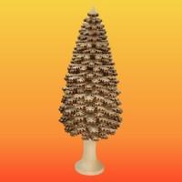 Lenk & Sohn Erzgebirgischer Schichtenbaum Nadelbaum 18cm natur