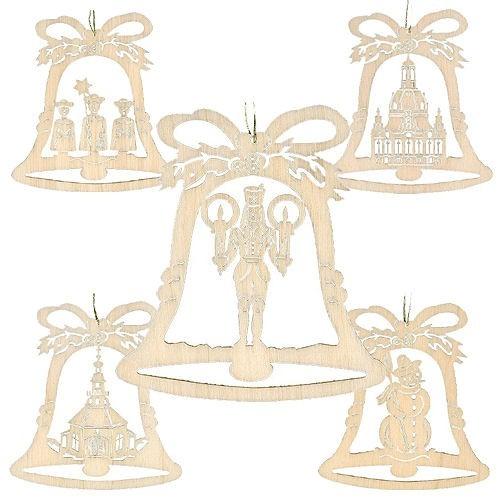 Lenk & Sohn 10er-Set Baumbehang Glocke
