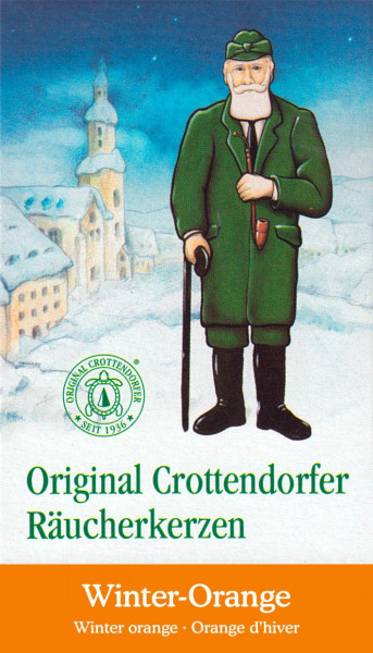 Dregeno Erzgebirge - Crottendorfer Räucherkerzen Winter-Orange (24)