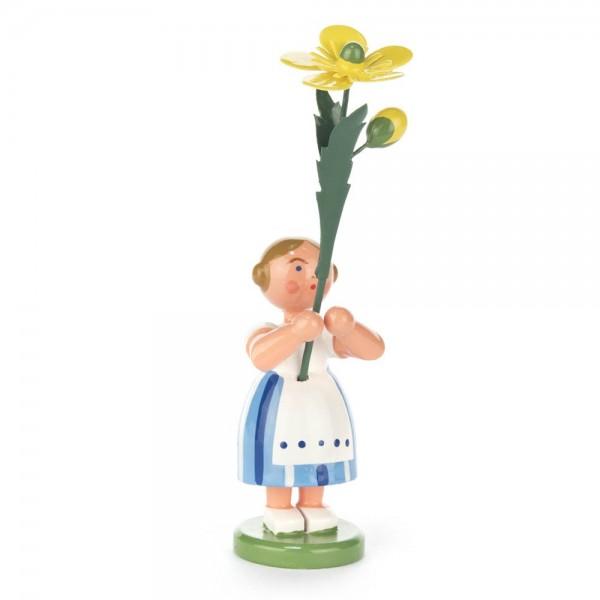 Dregeno Erzgebirge - Sommerblumenmädchen mit Butterblume