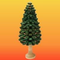 Lenk & Sohn Erzgebirgischer Schichtenbaum Nadelbaum 14cm grün