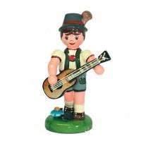 Hubrig Musikkinder Junge mit Gitarre