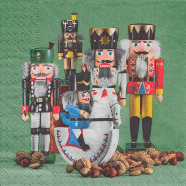 Dregeno Erzgebirge - Servietten Nussknackerparade (20)