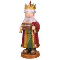 Hubrig Räuchermann Drei Heilige Könige Melchior 35cm
