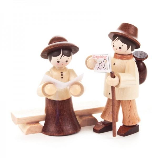 Dregeno Erzgebirge - Miniatur-Wandererpaar