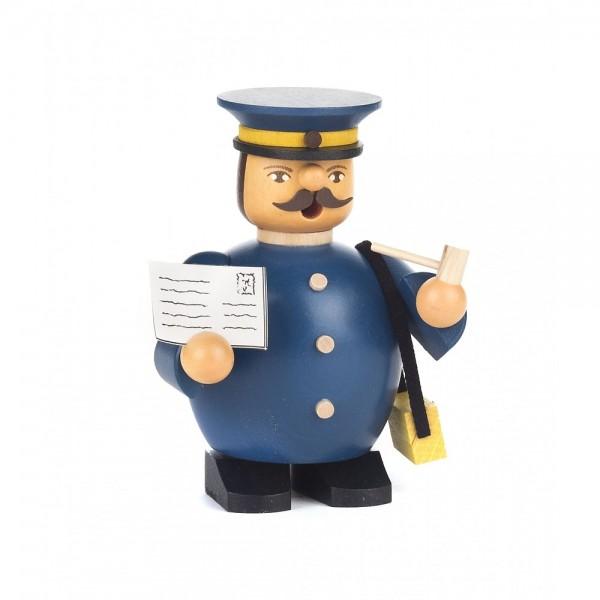 Dregeno Erzgebirge - Miniatur-Räuchermann Postbote