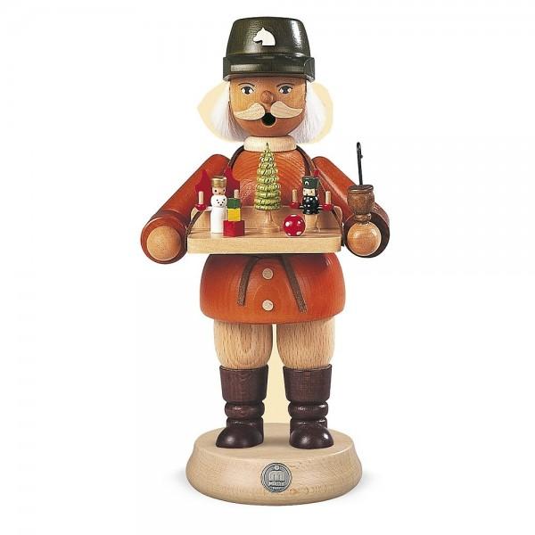 Müller Räuchermann groß Spielwarenverkäufer 23cm