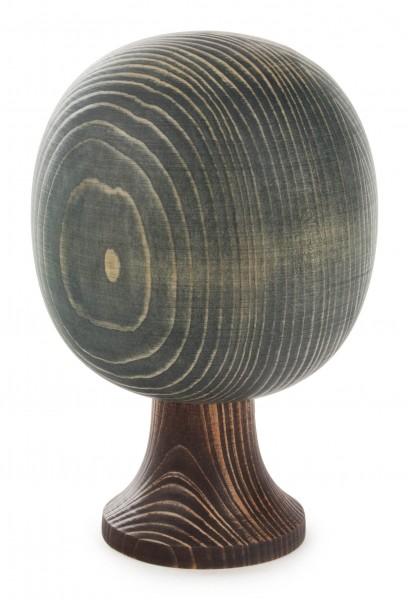 Dregeno Erzgebirge - Massivholzbaum runde Form 16 cm, grün