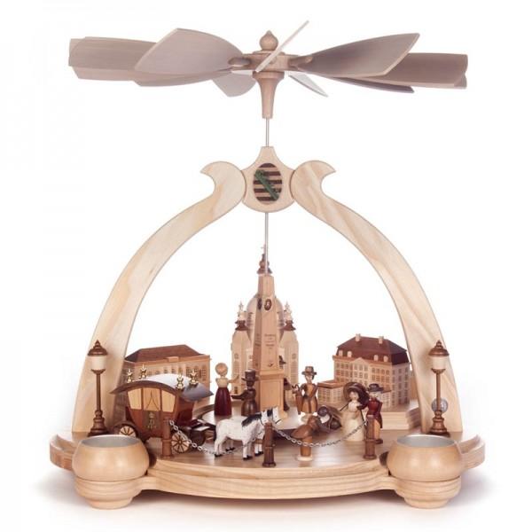 Dregeno Erzgebirge - Pyramide Alt Dresden, für Teelichter