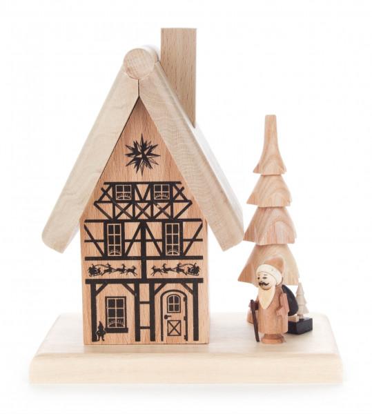 Dregeno Erzgebirge - Räucherhaus »Weihnachtsmannhaus«