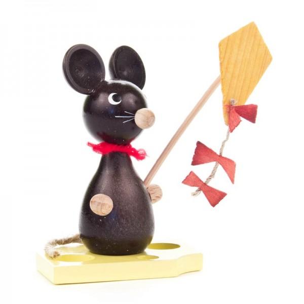 Dregeno Erzgebirge - Miniatur-Maus mit Drachen