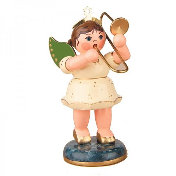 Hubrig Engel mit Posaune 6,5cm