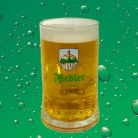 Fiedler Bierglas - Salzburgseidel - 0,4l