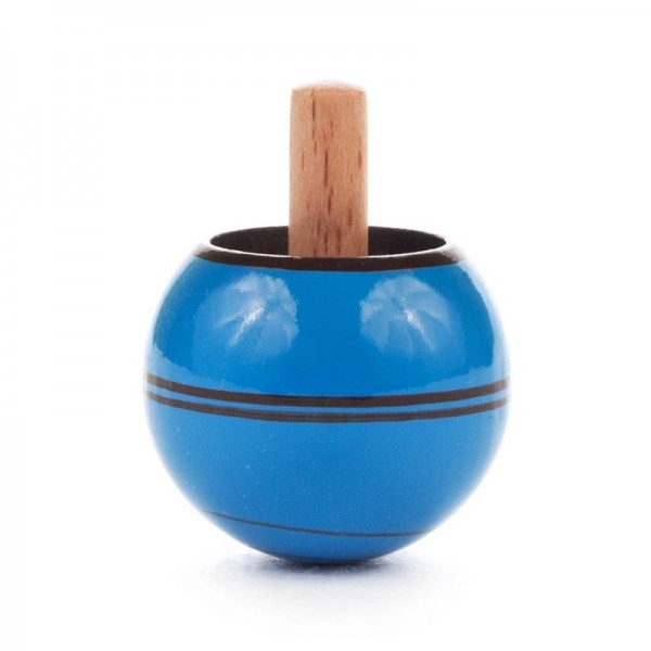 Dregeno Erzgebirge - Miniatur-Steh-Auf-Kreisel, blau