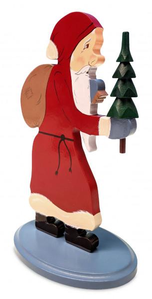 Dregeno Erzgebirge - Flachfigur Weihnachtsmann