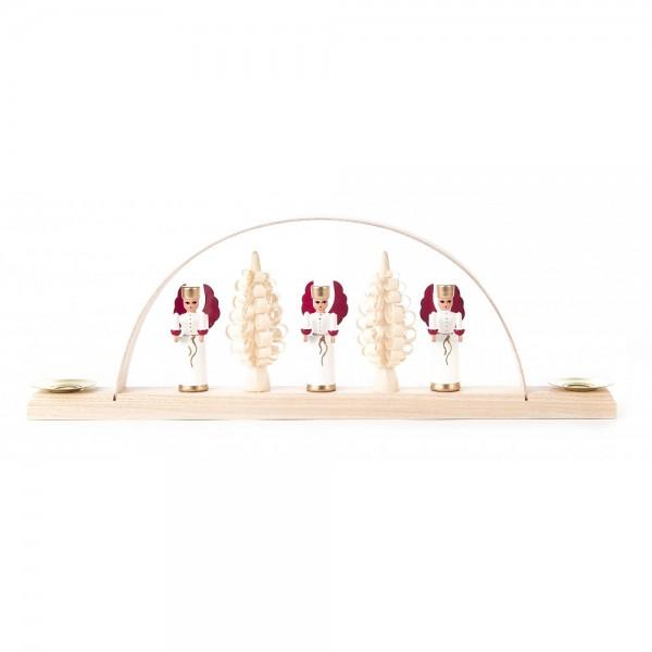 Dregeno Erzgebirge - Miniatur-Schwibbogen mit Engel