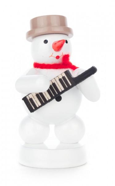 Dregeno Erzgebirge - Schneemann mit Keyboard