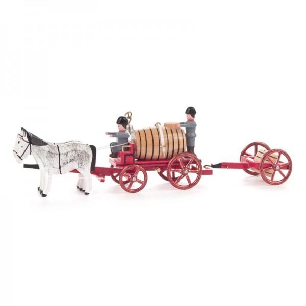 Dregeno Erzgebirge - Miniatur-Gespann Wasserwagen mit Rädertiene