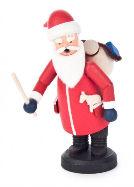 Dregeno Erzgebirge - Mini-Räuchermann Weihnachtsmann
