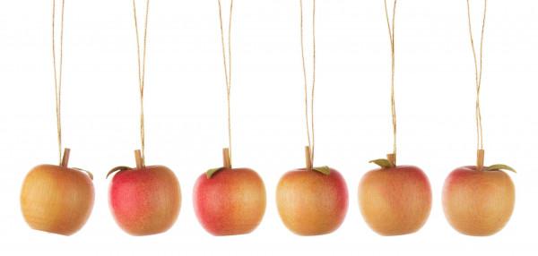 Dregeno Erzgebirge - Baumbehang Apfel mit Blatt (12)