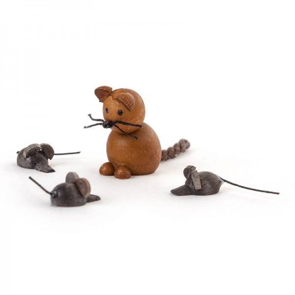 Dregeno Erzgebirge - Miniatur-Katz und Maus
