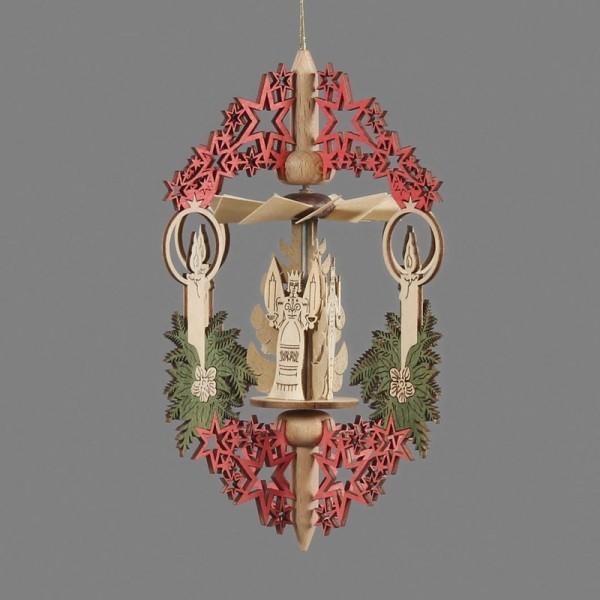 Dregeno Erzgebirge - Miniatur-Hängepyramide Advent