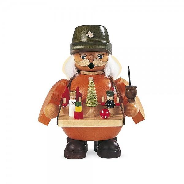 Müller Räuchermann klein Spielwarenverkäufer 14cm