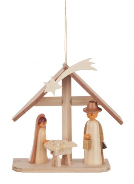 Dregeno Erzgebirge - Behang Christi Geburt natur