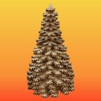 Lenk & Sohn Erzgebirgischer Schichtenbaum Nadelbaum 10cm natur
