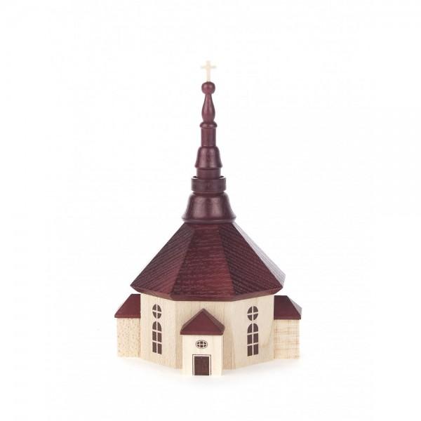 Dregeno Erzgebirge - Seiffener Kirche natur, 11cm
